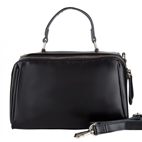 Женская кожаная сумка 28088 BLACK