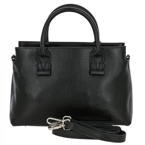Женская кожаная сумка 6801 BLACK