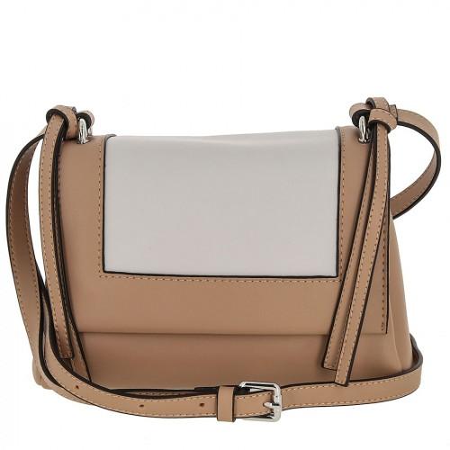 Женская кожаная сумка 8039 PINK GREY