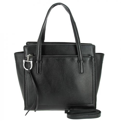 Женская кожаная сумка 8108 BLACK