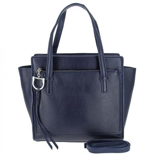 Женская кожаная сумка 8108 BLUE