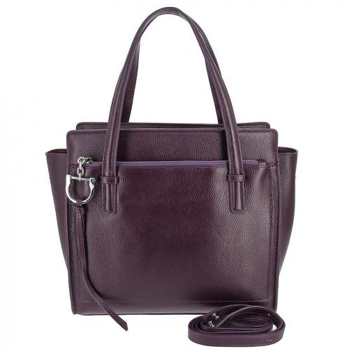 Женская кожаная сумка 8108 PURPLE