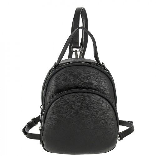 Женский кожаный рюкзак 8164 BLACK