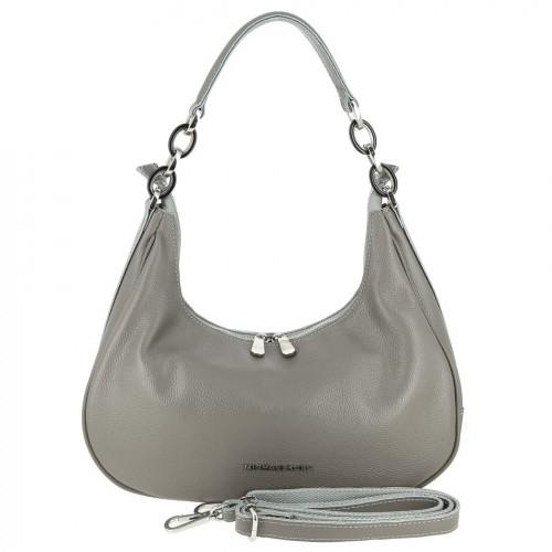 Женская кожаная сумка 83020 GREY
