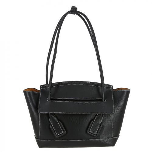 Женская кожаная сумка 8388 BLACK