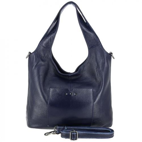 Женская кожаная сумка 89006 BLUE