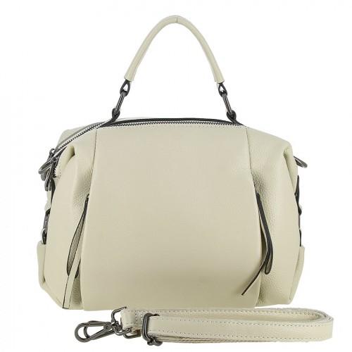 Женская кожаная сумка 90121 IVORY